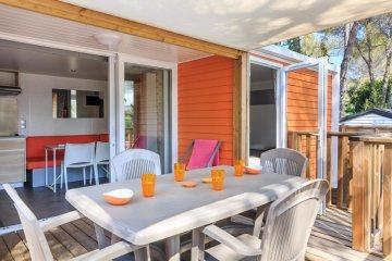 Cottage Patchwork 34 m² - 2 chambres + 2 salles de bains +  clim et TV - Holiday Green