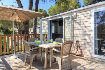 Cottage Plus 28 m² - 2 chambres + climatisation - Holiday Green