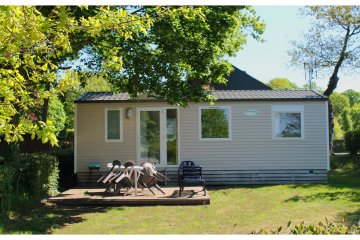 Mobile home CARAÏBES - 3 bedrooms - Au Bocage du Lac