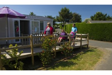 Cottage Helios*** (2 bedrooms) - adapted to the people with reduced mobility - L'Océan Breton
