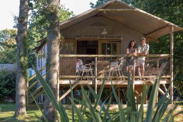Wooden cabin (2 bedrooms) - L'Océan Breton