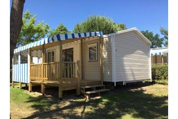 Mobil home FAMILLE  4 chambres 36m² - 8 personnes + TV + terrasse + 2 fauteuils de relaxation ... - L'Orée de l'Océan
