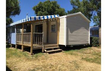 Mobil home GRAND FAMILLE  4 chambres 8/10 personnes  +TV + Terrasse +2 fauteuils de relaxation ... - L'Orée de l'Océan