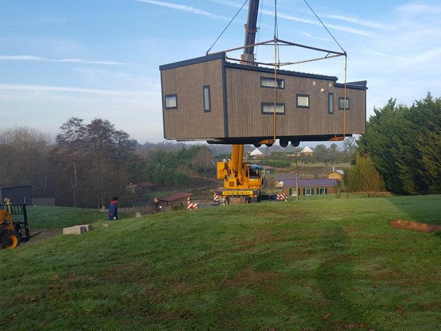 New top-of-the-range mobile homes at the Village de la Guyonnière