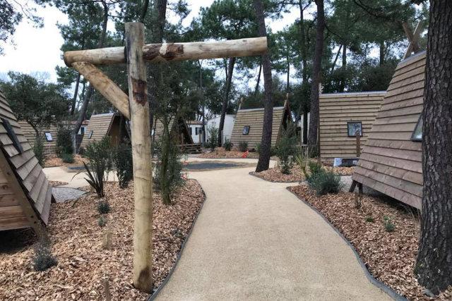 "The new ""Cabadiennes"" on the Les Genêts campsite"
