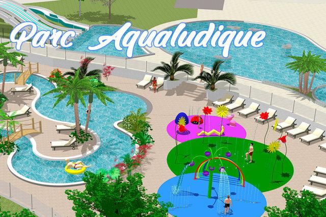 A new aquatic area at the Mané Guernehué campsite