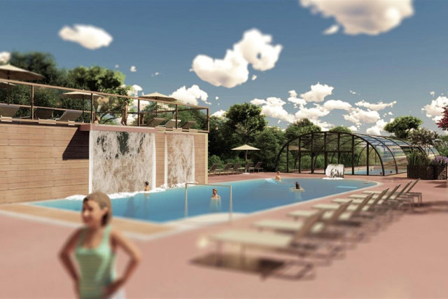 An entirely new aquatic area on the Domaine de Massereau