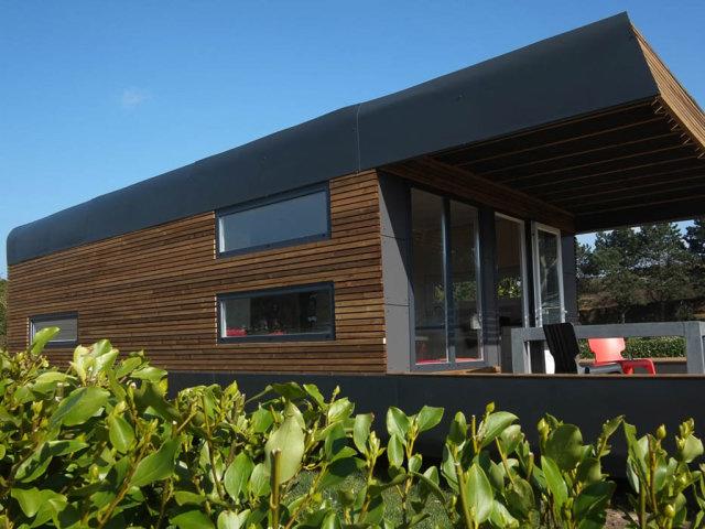 Mobil home Design (Camping Le Ranolien)