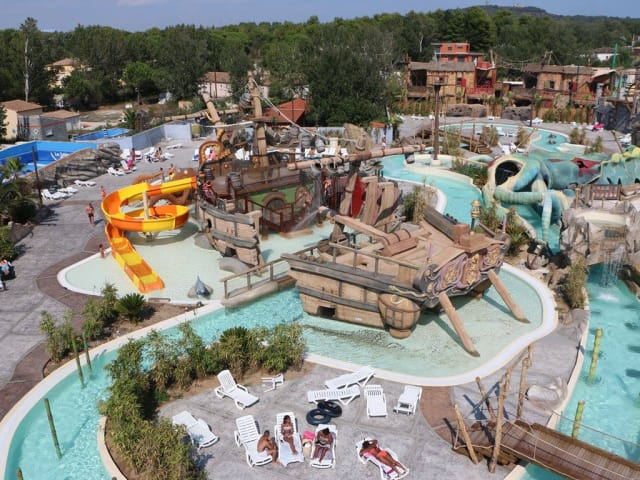 The Waterpark of the Camping Les Sables d'Or (Le Cap d'Agde)
