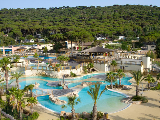 The water park of campsite Les Tournels (Ramatuelle)