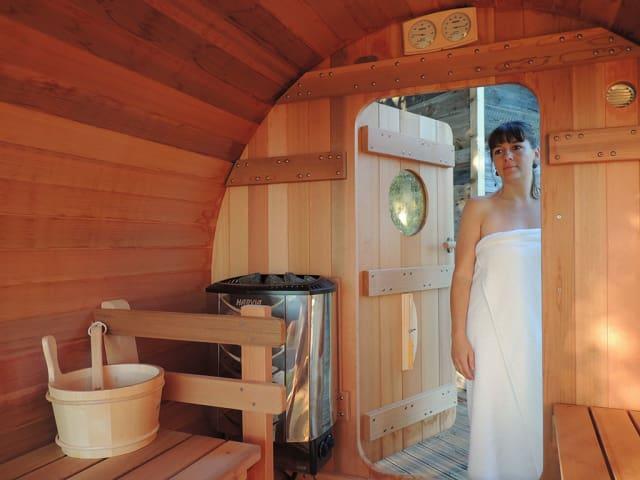 Un espace spa, bien-être et remise en forme au camping Le Domaine de Sévenier