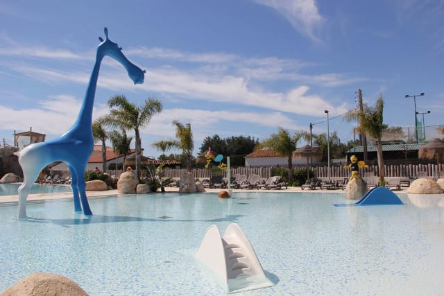 Parc aquatique du camping Els Prats Village (Miami Platja)