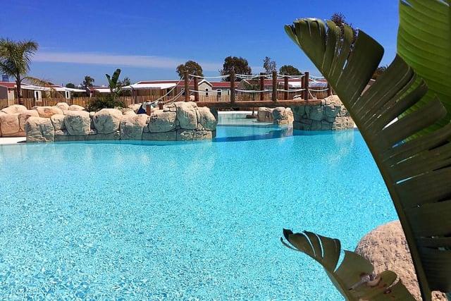 Parc aquatique du camping Gavina (Creixell)