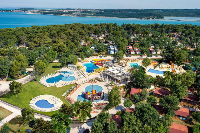 The top 10 loveliest campsite aquatic parks in Croatia