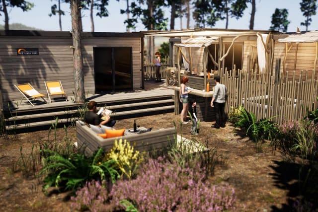A new Premium area on the Le Vieux Port campsite