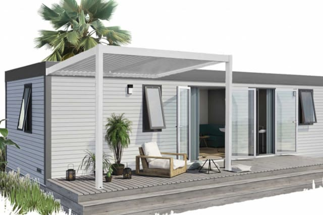 A new Premium area on the Le Soleil Vivarais campsite