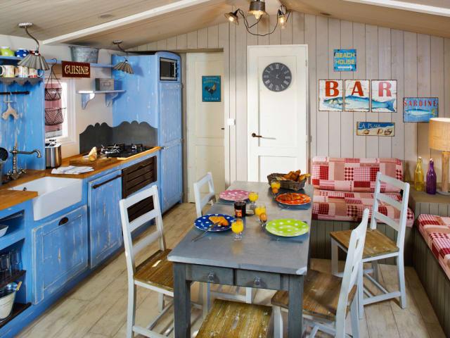 La cabane du pêcheur (Camping Le Sérignan Plage)
