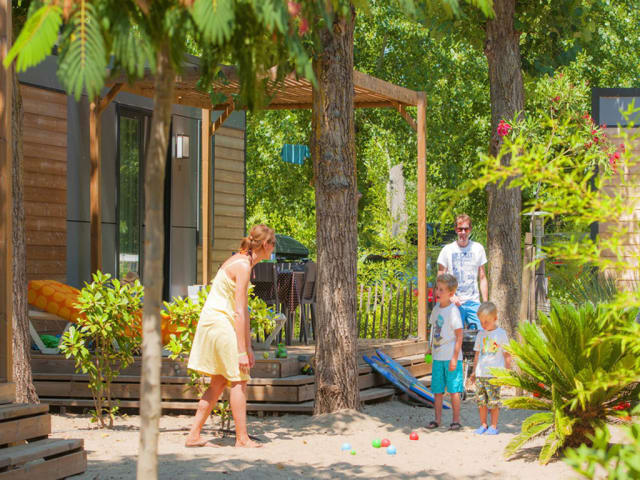 Maison des Sables (Camping Beach Garden)