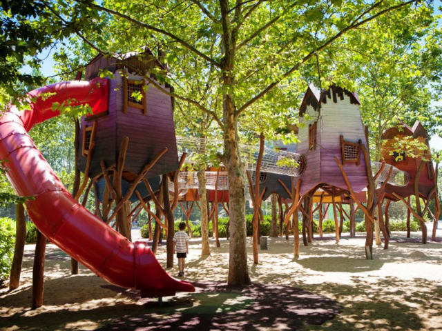 The fun structure of campsite Le Domaine Duravel