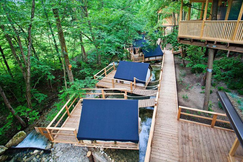 camping luxe garden village