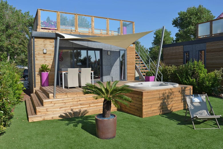 camping luxe le pearl