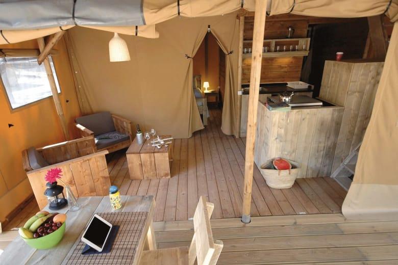 camping luxe punta mila