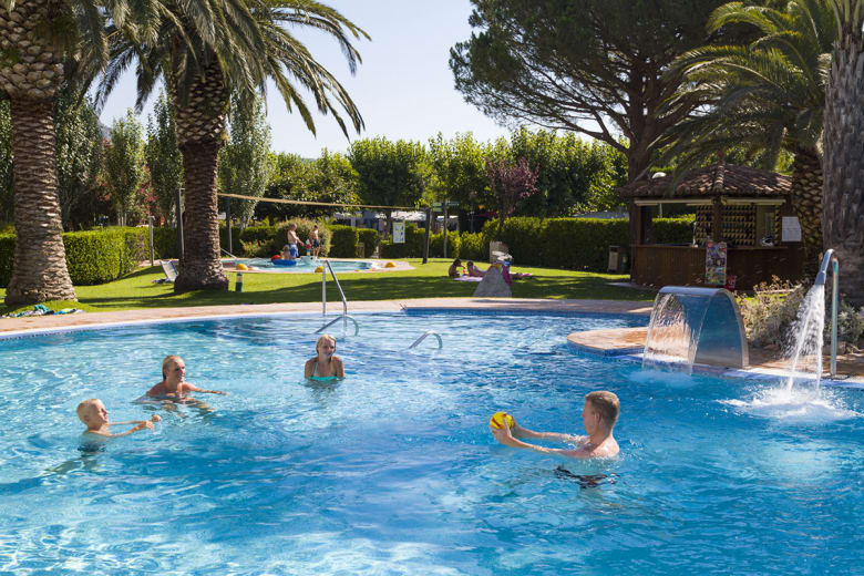 camping luxe les medes