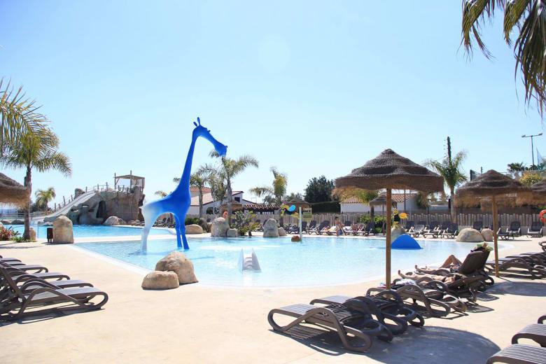 camping luxe els prats village