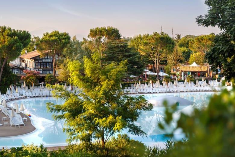 camping luxe altomincio family park