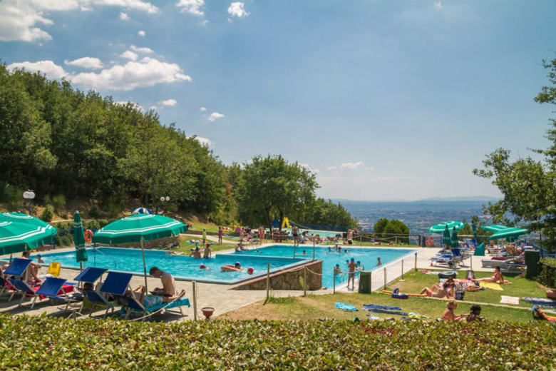 camping luxe barco reale