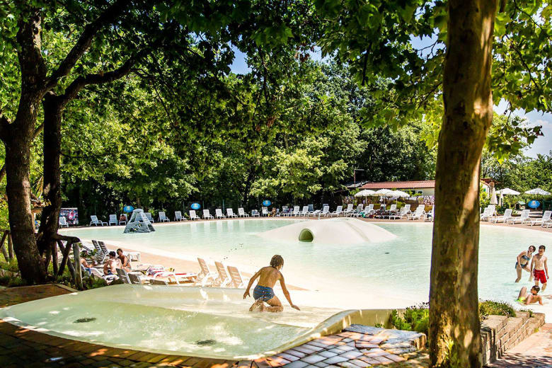 camping luxe pini family park