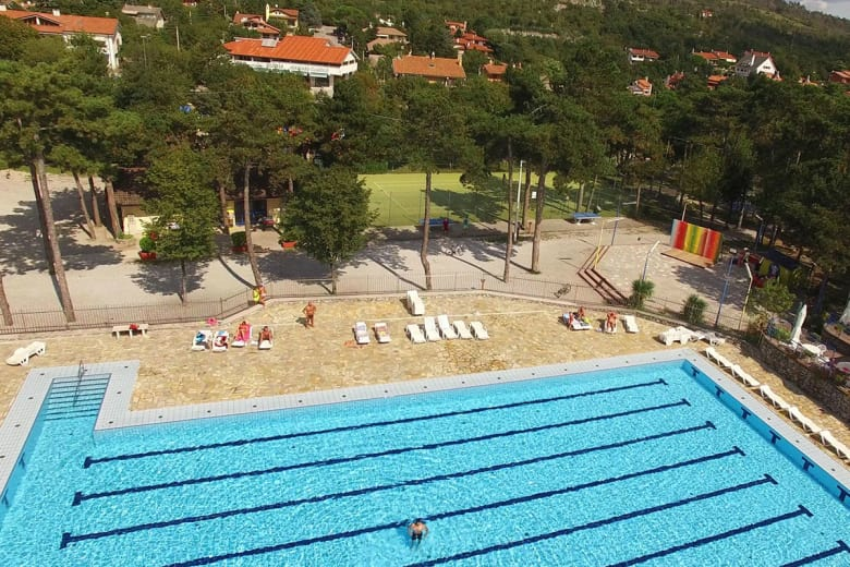 camping luxe mare pineta