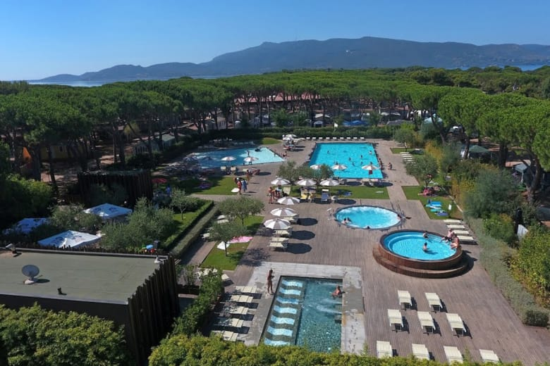 camping luxe orbetello