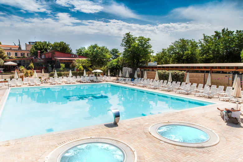 camping luxe roma