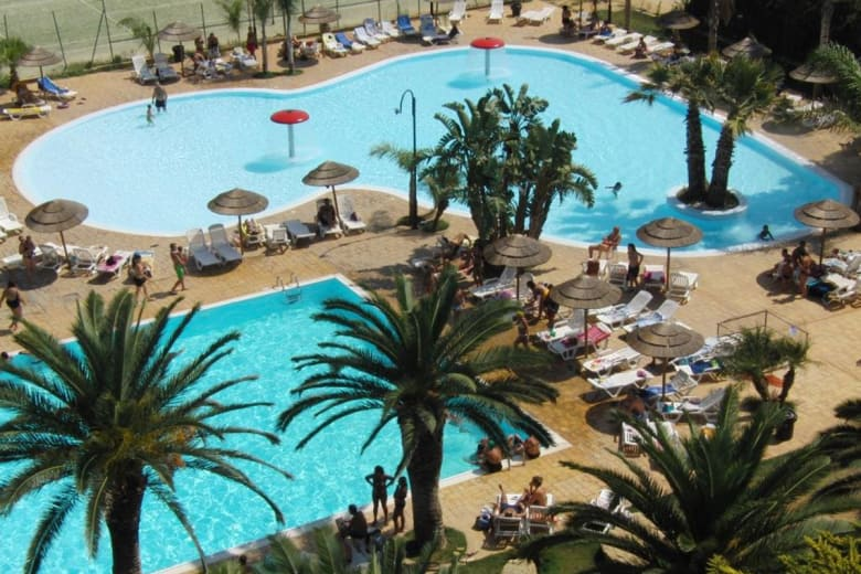 camping luxe sporting club village