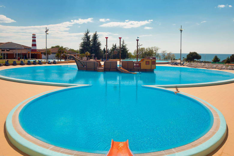 camping luxe park umag