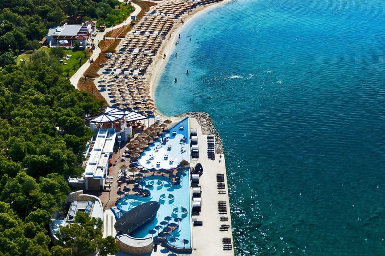 camping luxe solaris beach resort