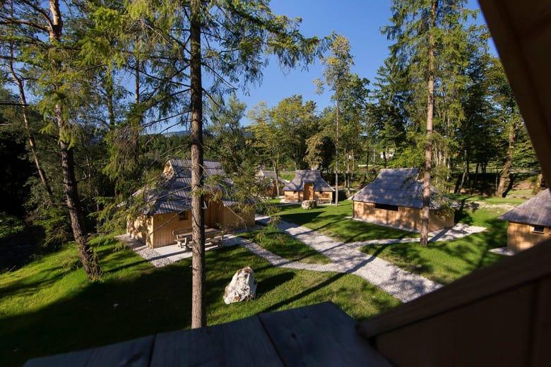 camping luxe eko resort beneath valika planina