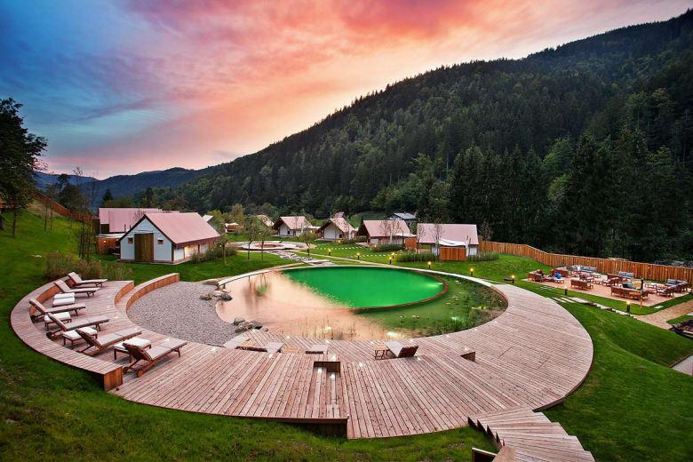 camping luxe herbal glamping resort ljubno