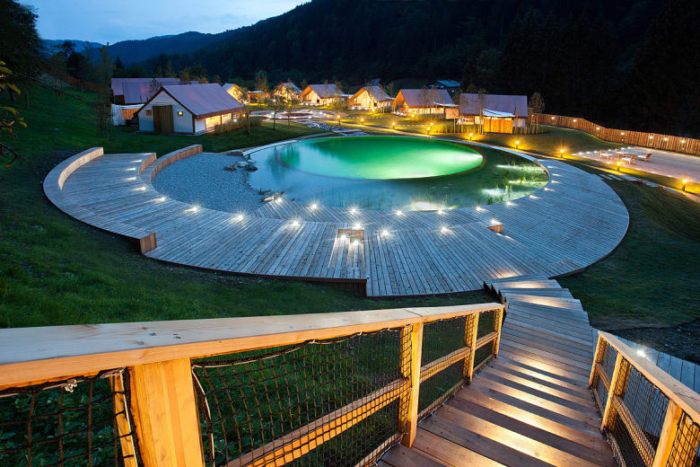 camping luxe herbal glamping resort ljubno