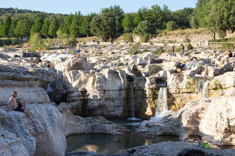camping luxe les cascades