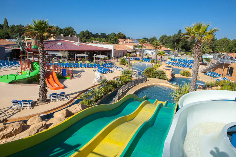camping luxe le fief