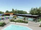 """Extension of the aquatic park at the <g ctype=""""italic""""><g ctype=""""italic""""><g ctype=""""italic""""><g ctype=""""italic"""">Le Littoral campsite"""