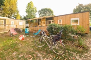 Mobil-home Grand Family Espace Premium 3 chambres/2 salles de bain + terrasse en bois semi couverte ... - Manoir de Ker An Poul