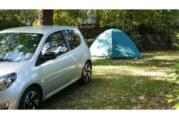 Emplacement Grand Confort Petite Tente - Les Cent Chênes