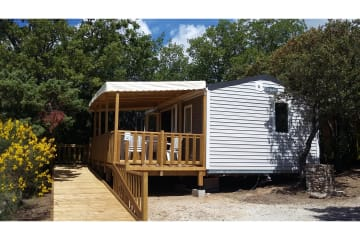 Mobile home LIFE 30m² gamme CONFORT - Domaine des Sources
