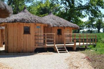 Cabane Aigrette (2 adultes + 2 enfants) - Village Flottant de Pressac