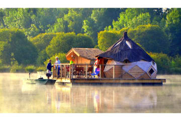 Cabane flottante Cocoon - 40m² / 1 chambre - Village Flottant de Pressac