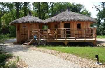 Cabane Bergeronnette (2 adultes + 2 enfants) - Village Flottant de Pressac