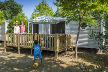 Mobil-home Cottage 28m² - Domaine de la Rive